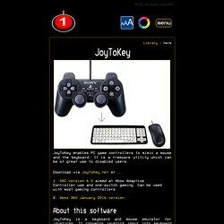 Free JoyToKey download and instructions. - OneSwitch.org.uk