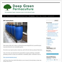 Deep Green Permaculture