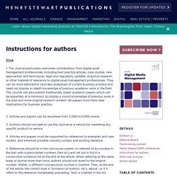 Henry Stewart Publications