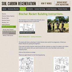 Biochar Rocket Building Instructions.