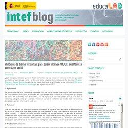 Principios de diseño instructivo para cursos masivos (MOOC) orientados al aprendizaje social
