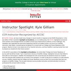 Instructor Spotlight: Kyle Gilliam