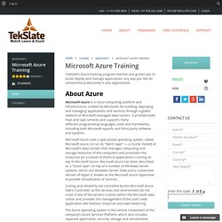 Best Microsoft Azure Training