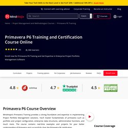 Instructor Led Live Oracle Primavera p6 Training by Experts