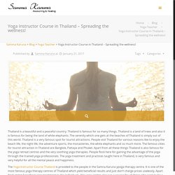 Yoga Instructor Course in Thailand – Spreading the wellness!