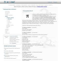 Jak zapamiętać liczbę pi? Jak-To-Zrobic.pl porady, metody, instrukcje, sposoby, solucje, przepisy