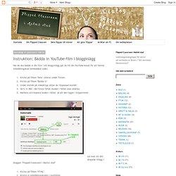 Instruktion: Bädda in YouTube-film i blogginlägg
