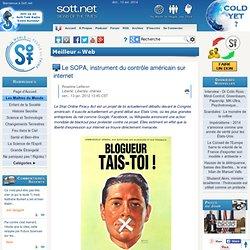 Le SOPA, instrument du contrôle américain sur internet