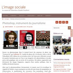 Photoshop, instrument du journalisme – L'image sociale