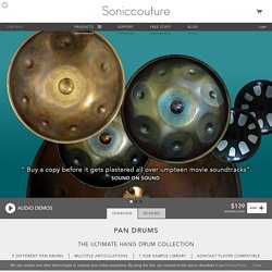 Pan Drums by Soniccouture
