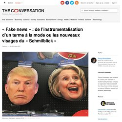 «Fakenews »: de l'instrumentalisation d'unterme àlamode oulesnouveaux visages du«Schmilblick»