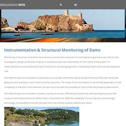 Instrumentation & Structural Monitoring of Dams