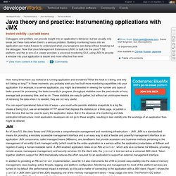 Java theory and practice: Instrumenting applications with JMX