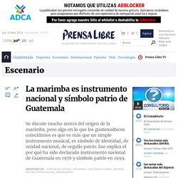 La marimba es instrumento nacional y símbolo patrio de Guatemala