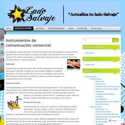 Instrumentos de comunicación comercial