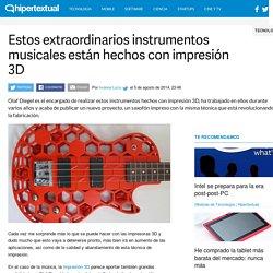 Instrumentos musicales hechos con impresión 3D
