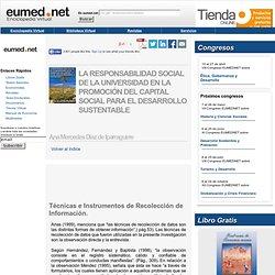 T cnicas e Instrumentos de Recolecci n de Informaci n