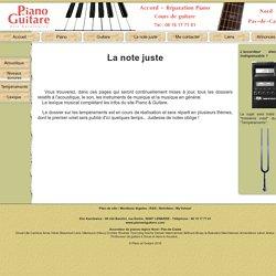 Les dossiers piano et guitare, instruments de musique, acoustique musicale.