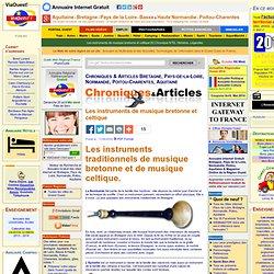 Les instruments de musique bretonne et celtique [fr] Chronique N°52, Histoires, Légendes