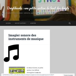 Imagier sonore des instruments de musique