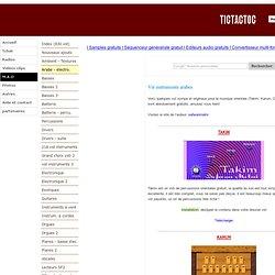 Vst instruments de grande qualité et gartuits - TICTACTOC