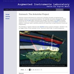 Augmented Instruments Laboratory, C4DM - Outreach