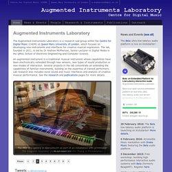 Augmented Instruments Laboratory, C4DM