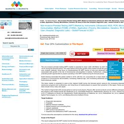 Non-Invasive Prenatal Testing (NIPT) Market by Instruments, Application & End User - 2021