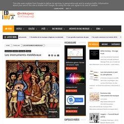 Les instruments médiévaux - éducation musicale — by nikkojazz