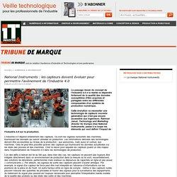 National Instruments : les capteurs doivent évoluer pour permettre l'avènement de l'Industrie 4.0
