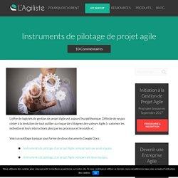 Instruments de pilotage de projet agile