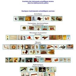 Instruments scientifiques anciens