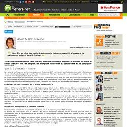 Annie Bellier-Delienne - Directrice du master gestion des instruments financiers, Cergy (95) - Témoignages
