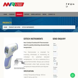 Extech Instruments - Non-Contact Forehead IR Thermometer Dealer in Mumbai, India