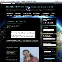 INSTRUMUNDO Instrumentos Musicales: Konnakol, Bol, Solkatu