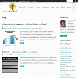 Blog - Instytut Rozwoju Małego Dziecka Czerska Aneta