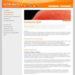 Coenzyme Q10, Insuffisance Cardiaque, Maladie de Parkinson- Nutri-Facts.org