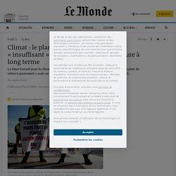 Climat: le plan de relance français «insuffisant» pour enclencher une rupture à long terme