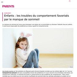 Enfant: un sommeil insuffisant peut conduire à des problèmes cognitifs - PARENTS.fr
