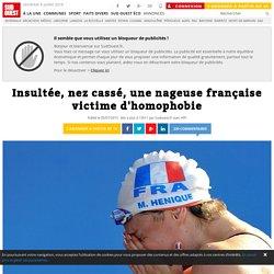 Insultée, nez cassé, une nageuse française victime d'homophobie
