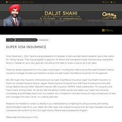 Supre Visa Insurance