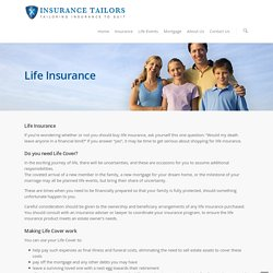 Life Insurance Advisors Auckland NZ – Insurance Tailors