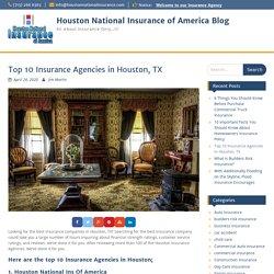 Houston National Insurance of America Blog