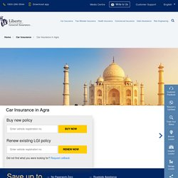 Car Insurance in Agra: Buy/Renew Car Insurance Policy in Agra