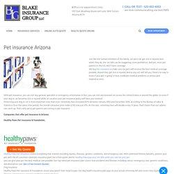 pet insurance arizona