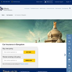 Car Insurance in Bangalore: Buy/Renew Car Insurance Policy in Bangalore