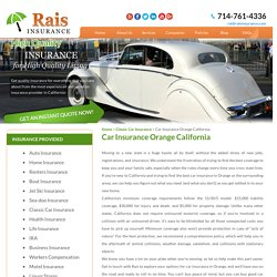 Car Insurance in Orange California