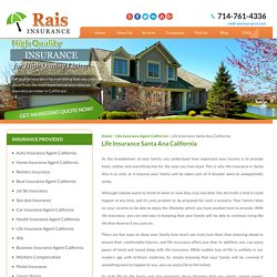 Life Insurance in Santa Ana Rais - Insurance Services, INC