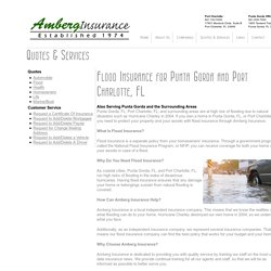 Flood Insurance Company in Port Charlotte, FL