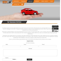 Car Insurance Company, Motor Insurance Company in Abu Dhabi, Dubai, UAE - Motoring Club